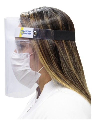 Protetor Facial Face Shield Ortho Pauher De 30 A 50 Unids