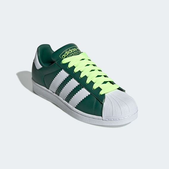 adidas superstar hombre verdes