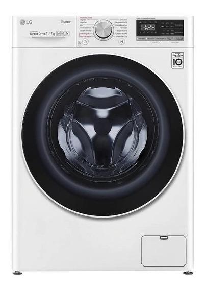 Lavadora e secadora de roupas automática LG CV5011 branca 11kg 127V