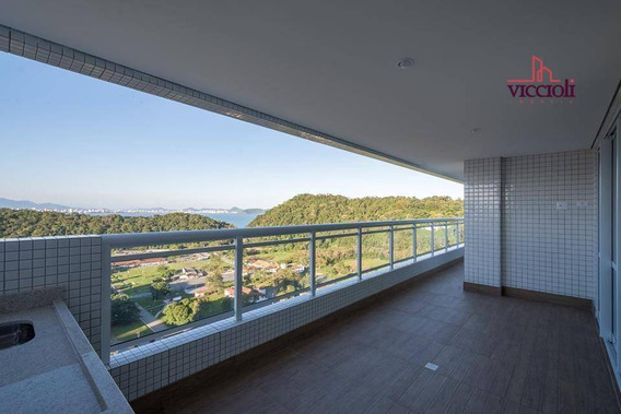 Apartamento Com 4 Dormitórios À Venda, 162 M² Por R$ 900.000 - Canto Do Forte - Praia Grande/sp - Ap1627