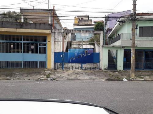 Terreno À Venda, 200 M² Por R$ 480.000,00 - Vila Matilde - São Paulo/sp - Te0079