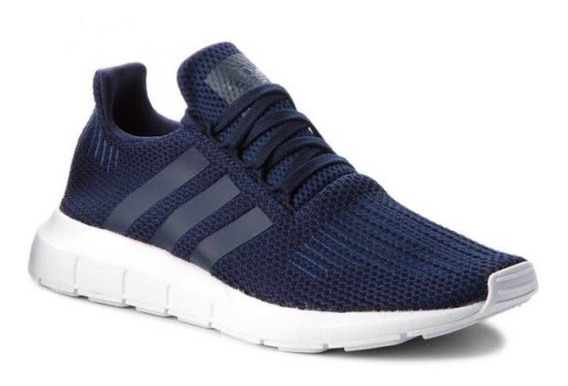 Tenis adidas Swift Run Azul Toda La Corrida