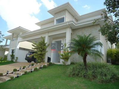 Casa Com 4 Dormitórios À Venda, 373 M² - Alphaville Dom Pedro - Campinas/sp - Ca6087