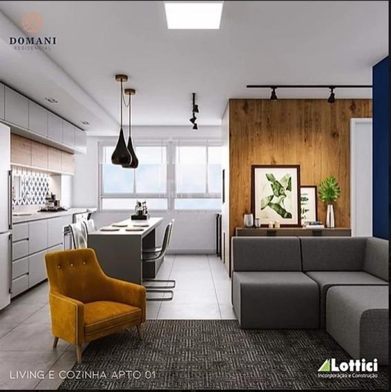 Apartamento Em Fátima Com 2 Dormitórios - Ev4222