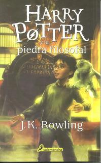 Libro Nuevo Harry Potter Y La Piedra Filosofal