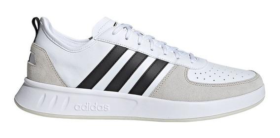 Tenis adidas Originales Clasicos Court 80s Blancos