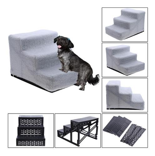 Imagen 1 de 5 de Perro Cachorro Mascota Plegable Escaleras Pasos Rampa Interi