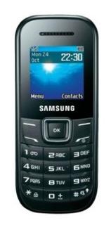 Celular Samsung Keystone2 Gt-e1205 P/ Idosos - Preto