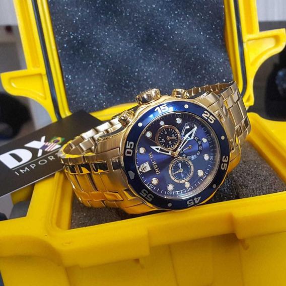 Relógio Invicta Pro Diver Ouro 18k Original