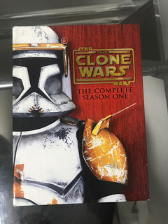 Dvd Star Wars Serie Clone Wars Temorada 1 Usada