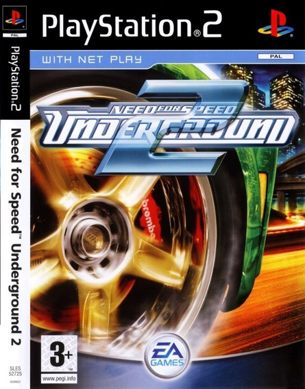 Jogo Need For Speed Underground 2 + Need For Speed Most Ps2