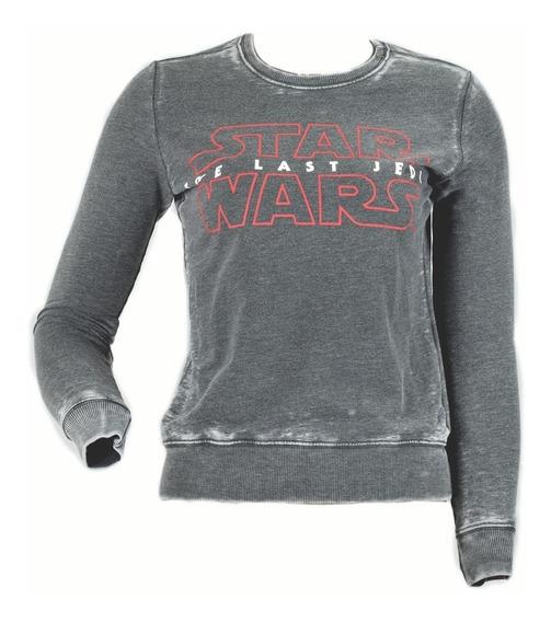 Sudadera Star Wars The Last Jedi Gorro Mujer Original Toxic
