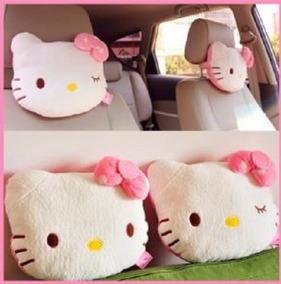 Encosto De Cabeça Para Carro Ou Almofada Hello Kitty