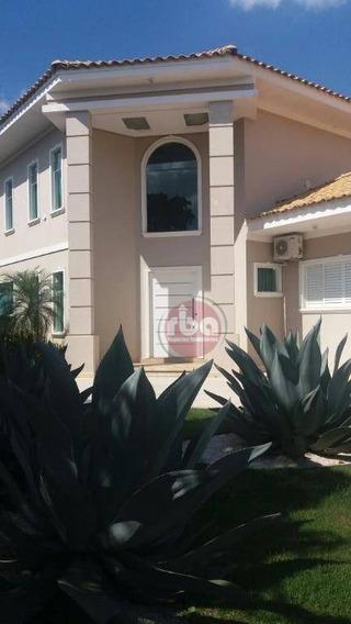 Casa Residencial Para Venda E Locação, Lago Azul Condomínio E Golfe Clube, Araçoiaba Da Serra. - Ca1283