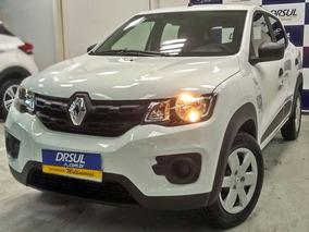 Renault Kwid Zen 1.0 12v 2019 Branco Flex