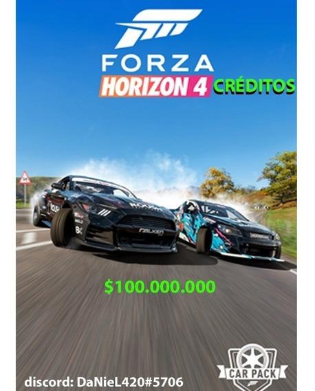 Dinheiro Para Forza Horizon 4 Créditos Fh4