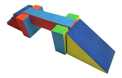 Imagen 1 de 3 de Kit Viga De Equilibrio Soportes Escalera  Rampa Envio Gratis