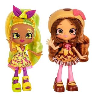 Shoppies Muñeca Shopkins Coco Cookie Fria Lemony O Makaella