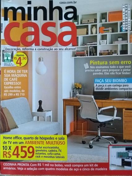 Revistas Minha Casa. Exemplares Dos Meses 10,11e12 De 2011