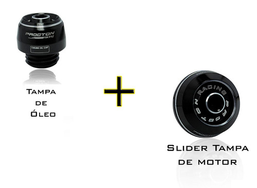 Slider Tampa Motor + Tampa Óleo Procton Hornet Xj6 Bmw