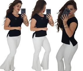 fd4ccaaca Roupas Femininas Blusas Baby Look Camisetas Long Line Lindas