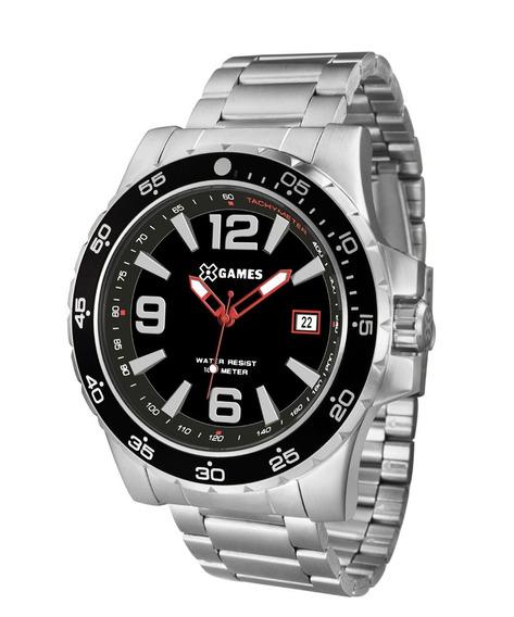 Relógio X Games Masculino Prateado - Xmss1043 P2sx