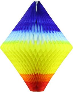4 Enfeites - Balão Biriba Junino De 25 Cm