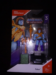 Mega Construx Masters Of The Universe Faker Serie 3