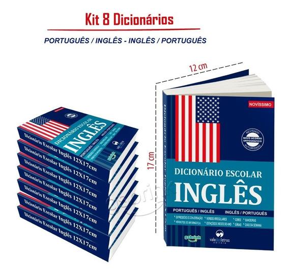 8 Dicionario Escolar Inglês Português (atualizados)