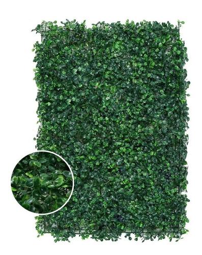 Jardin Vertical Artificial Muro Verde Enredadera 40x60 X 10