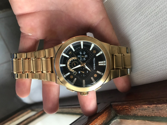 Relógio Technos Masculino Carbon Os2aar/4p