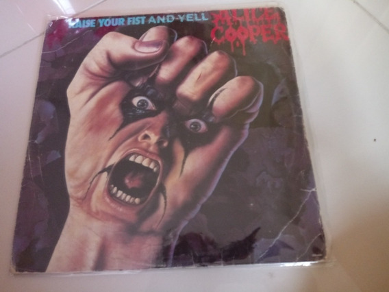 Lp Alice Cooper - Raise Your Fist And Yell