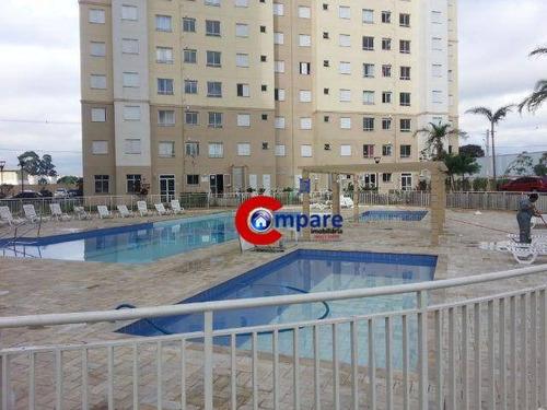 Imagem 1 de 25 de Apartamento Com 2 Dormitórios À Venda, 45 M² Por R$ 235.000,00 - Vila Augusta - Guarulhos/sp - Ap5004