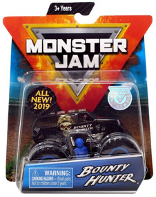 Monster Jam 2019 Bounty Hunter Escala 1/64 Versão Americana.