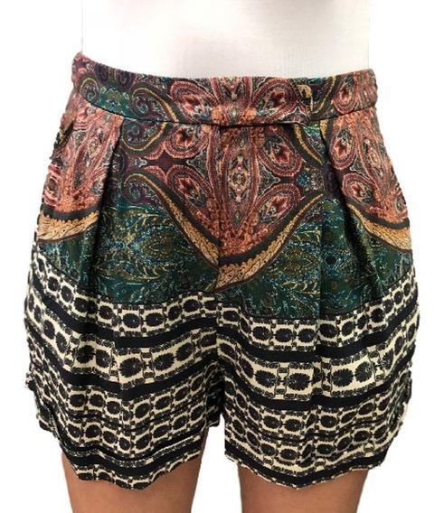 Shorts Farm Multicolorido Feminino 011