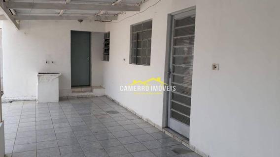 Casa Com 1 Dormitório Para Alugar, 55 M² Por R$ 750,00/mês - Loteamento Industrial - Santa Bárbara D