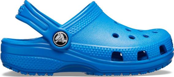 Zapato Crocs Unisex Infantil Classic Clog Azul Cobalto