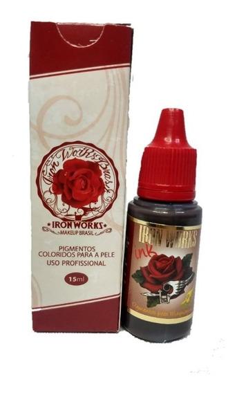 Pigmento Tinta Iron Works Cores A Escolha