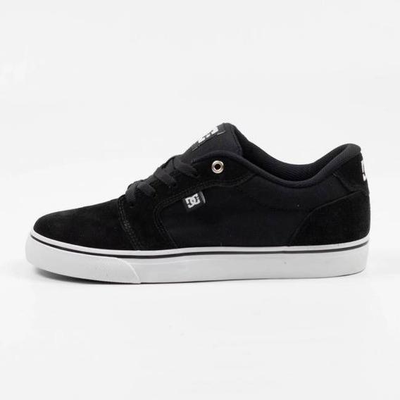 Tênis Dc Shoes Anvil La Preto/branco Original