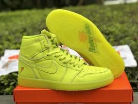 Tenis Nike Air Jordan 1 Retro Gatorade Green Original
