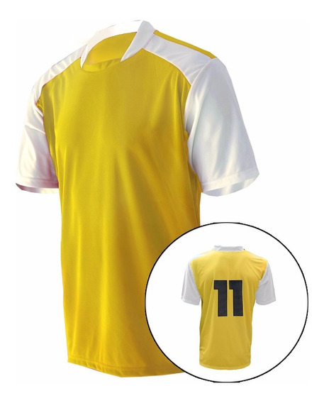 Camisa De Futebol Numerada Kit Com 20+2 Pcs Frete Gratis