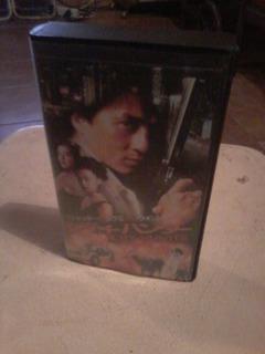 City Hunter Vhs Japones!! Suntory Mono Hifi!! Jackie Chan!!
