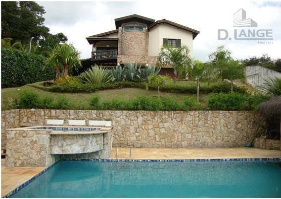 Casa Residencial À Venda, Monterrey, Louveira. - Ca8486