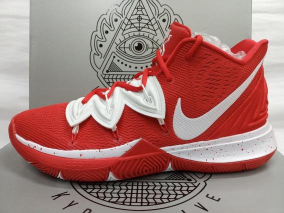 Tenis De Basquetbol Nike Kyrie 5 Tb University Red Original
