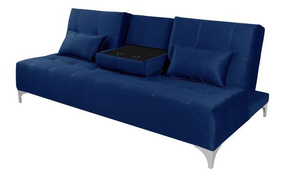 Sofa Cama Berlim Reclinavel Com Mesinha Essencial Estofados