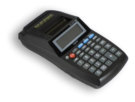 Calculadora De Mesa Eletrônica Com Impressora, 50 Ts