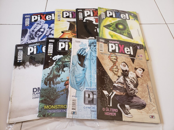 Coleção Pixel Magazine + Fábulas Pixel (25 Revistas)