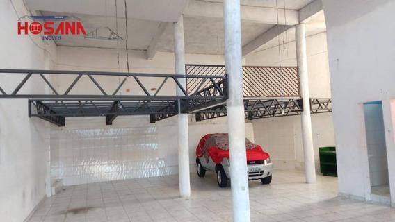 Salão Para Alugar, 125 M² Por R$ 1.400,00/mês - Jardim Vitoria - Caieiras/sp - Sl0059