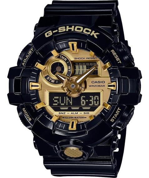 Reloj Casio G-shock Ga-710gb-1a Ana-digi