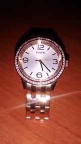 Relógio Feminino Scarlet Fossil Dourado